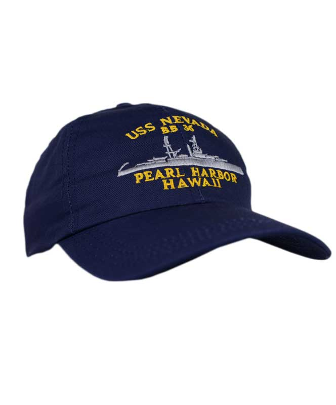USS Nevada BB36 Cap