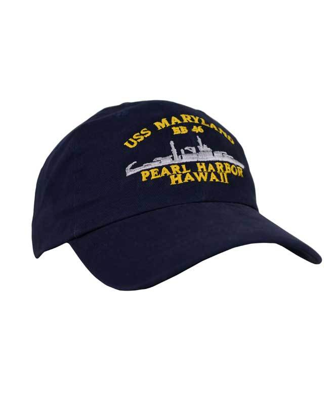 USS Maryland BB46 Cap