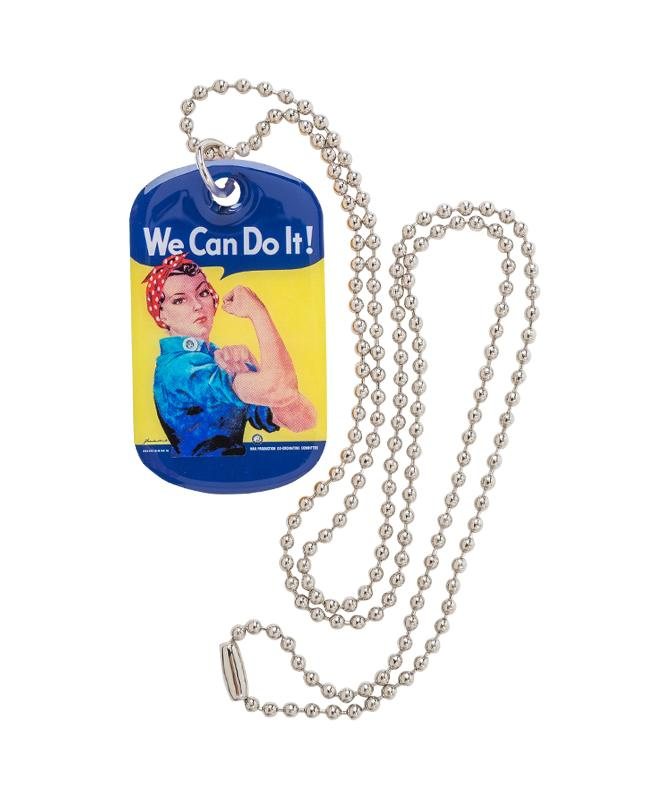 Rosie the Riveter Dog Tag