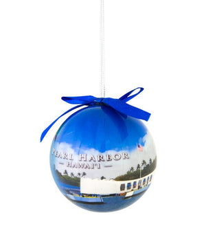 Pearl Harbor Collage Christmas Ornament