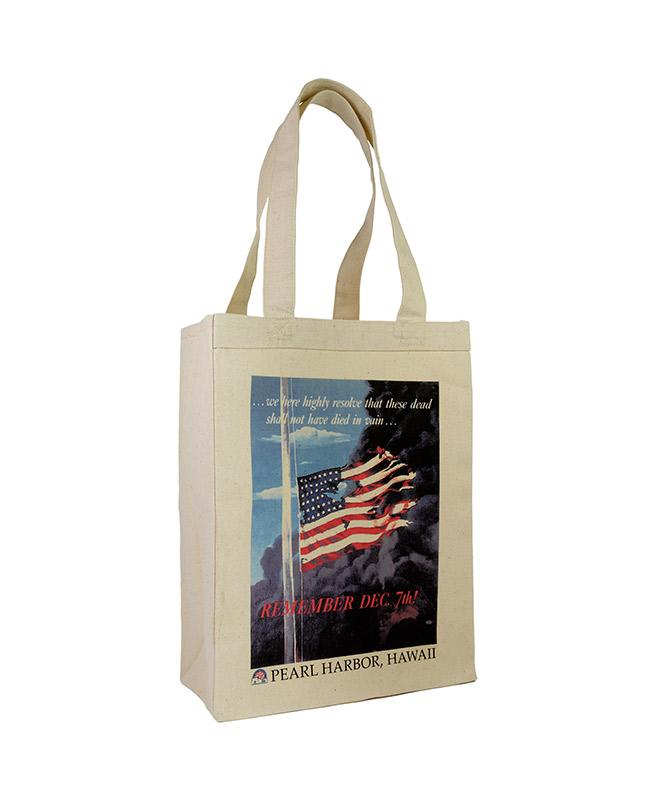 Remember December 7 Canvas Tote Bag