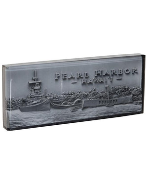 Pearl Harbor Resin Paperweight