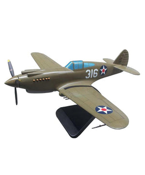 Curtiss P-40B Warhawk - WWII US Fighter Aircraft