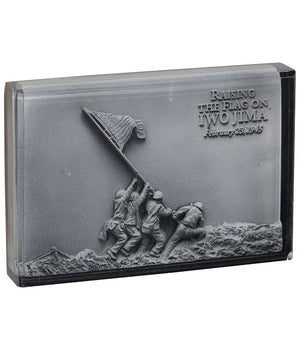 Iwo Jima Resin Paperweight