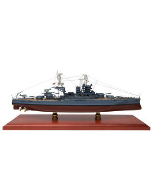 Handcrafted BB39 USS Arizona Mahogany Model