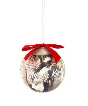 Victory Kiss Christmas Ornament
