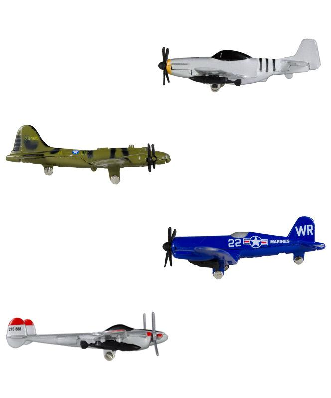 InAir WWII Warbirds Diecast Metal Flyers