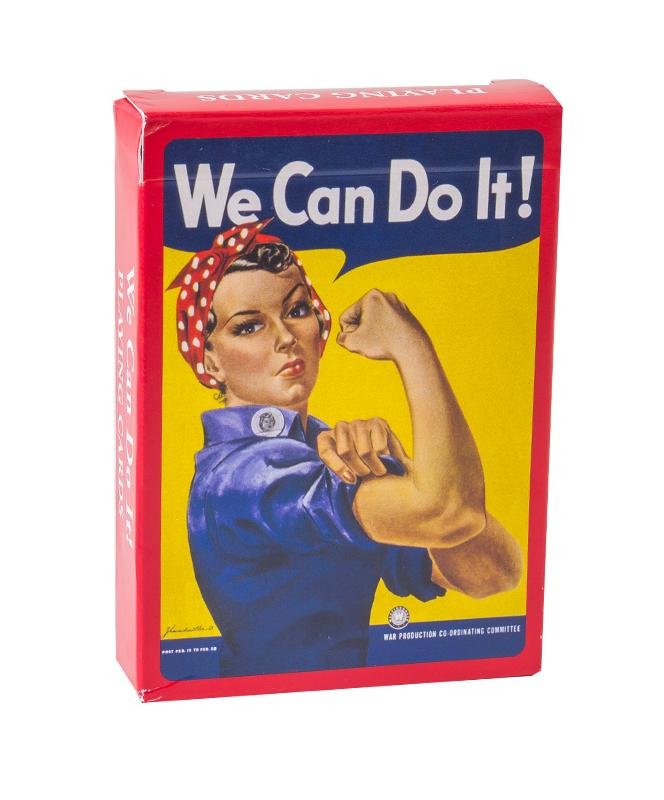 Rosie the Riveter - Playing Cards