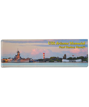 Pearl Harbor Historic Sites Panorama Magnet