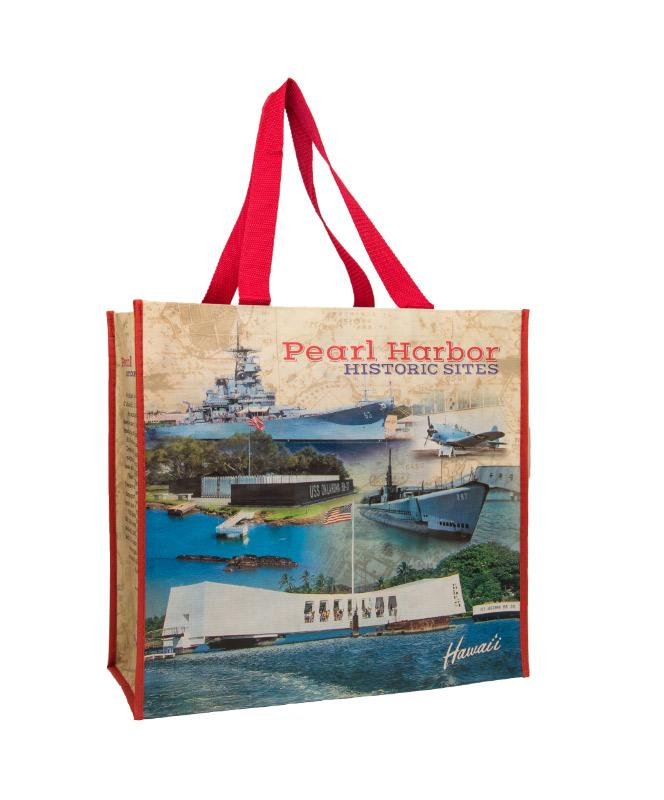 Pearl Harbor Historic Sites Tote Bag