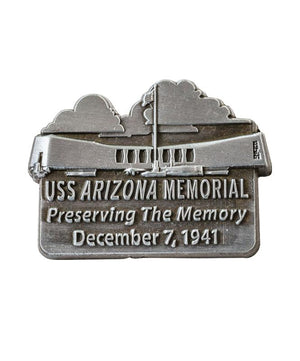 USS Arizona Memorial Collectible Lapel Pin