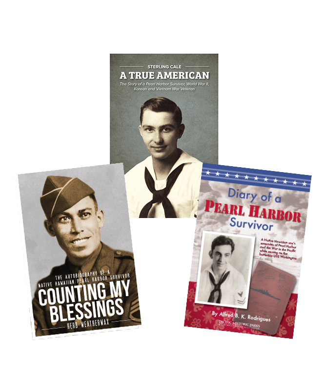 Pearl Harbor Survivor Book Set