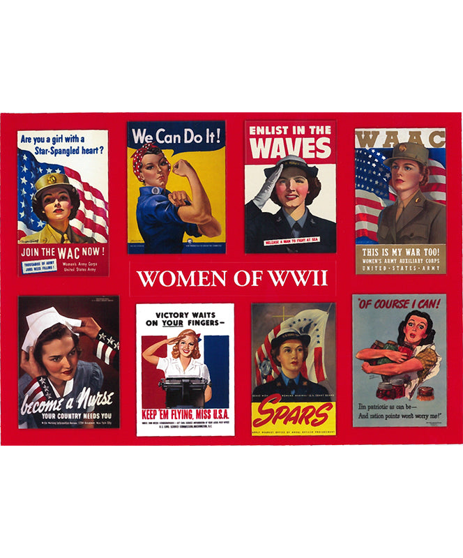 Women of World War II Stickers