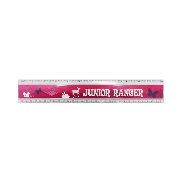 Junior Ranger Ruler Pink