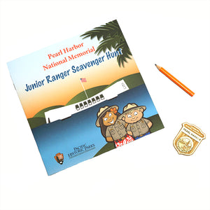 Jr. Ranger Workbook English