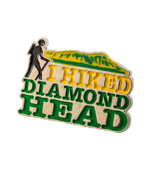 I Hiked Diamond Head Pin