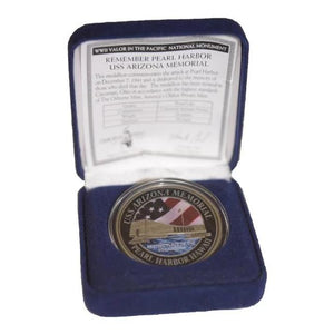 USS Arizona Challenge Coin