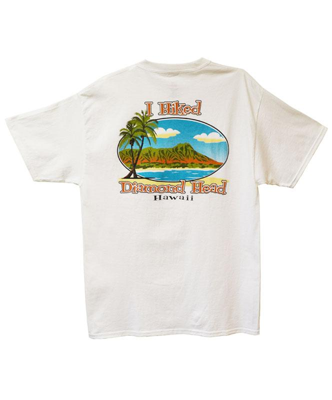 Men's I Hiked Diamond Head Vintage T-shirt, White