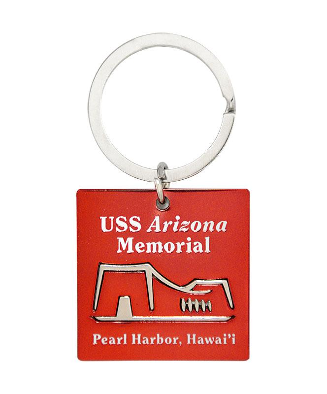 USS Arizona Memorial Keychain