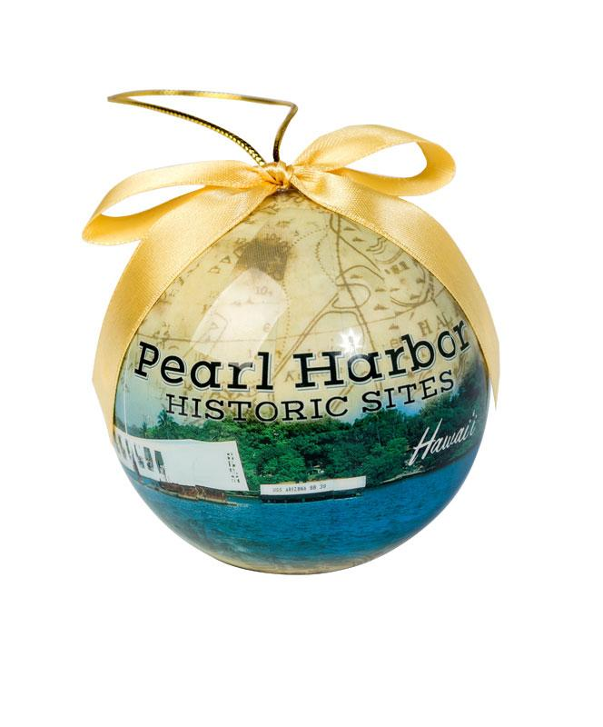 Pearl Harbor Historic Sites Christmas Ornament