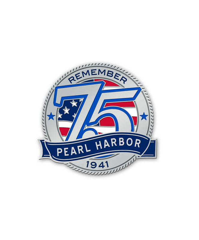 75th Pearl Harbor Anniversary Logo Magnet