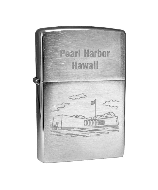 Genuine Zippo Lighter - Arizona Memorial