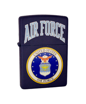 Genuine Zippo Lighter - U.S. Air Force, Dark Blue