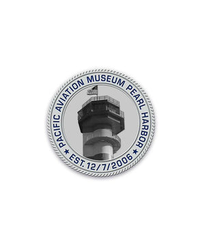 75th Silver Challenge Coin Pacific Aviation Museum