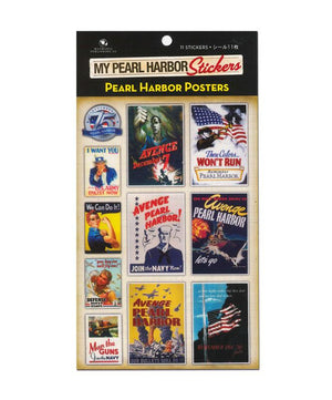 My Pearl Harbor Stickers - Pearl Harbor Poster