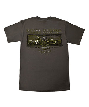 Men's Harley-Davidson Freedom Fighters T-Shirt, Dark Grey