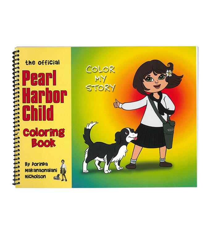 Pearl Harbor Child Coloring Book