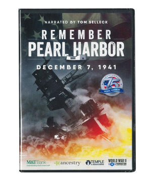 75th Anniversary Remember Pearl Harbor DVD