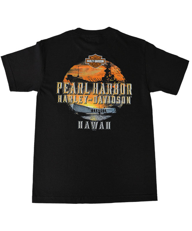 Men's Harley-Davidson Remember Pearl Harbor T-Shirt, Black