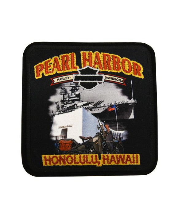 Pearl Harbor Harley-Davidson Patch
