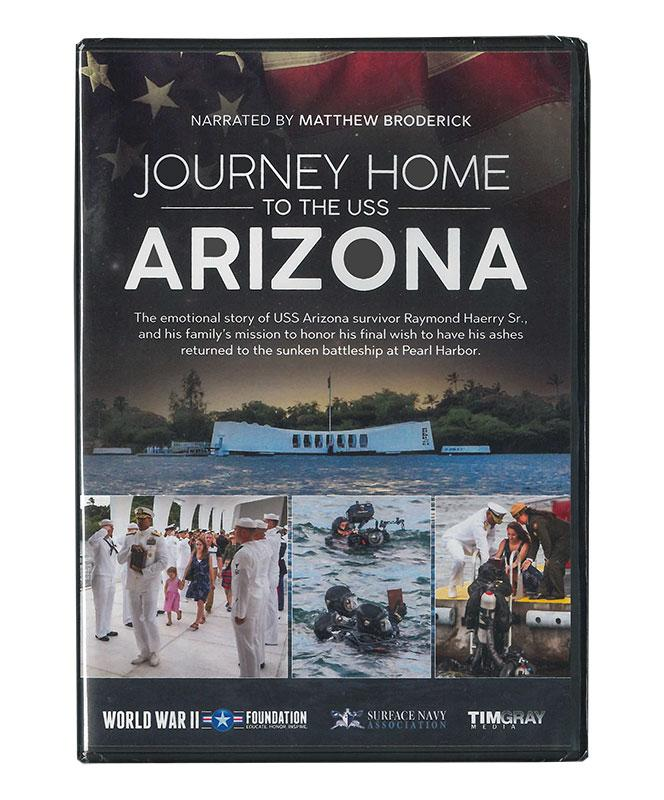 Journey Home to the USS Arizona DVD