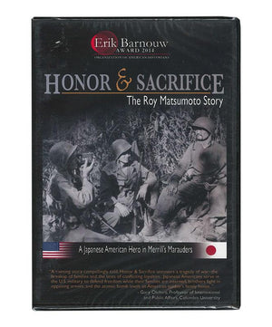 Honor & Sacrifice: The Roy Matsumoto Story, DVD