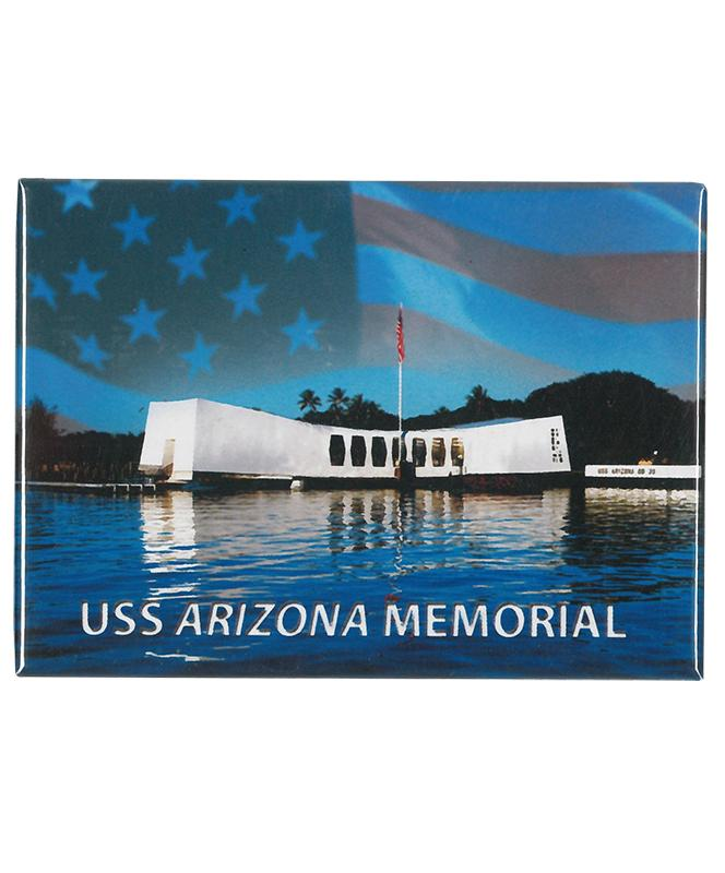 Magnet - Hawaiian Islands Remembrance featuring the USS Arizona Memorial