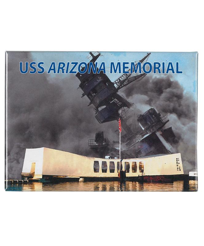 USS Arizona Memorial Remembrance Magnet
