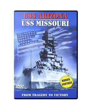 USS Arizona/USS Missouri: From Tragedy to Victory DVD