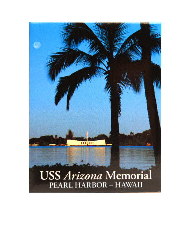 Pearl Harbor Sunset Magnet