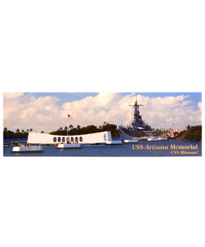USS Arizona and USS Missouri Magnet