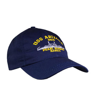 USS Arizona BB39 Hat USA Made