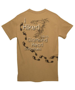 Hike Diamond Head T-shirt Khaki