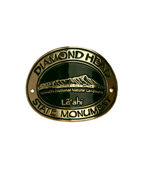 Diamond Head Hiking Medallion
