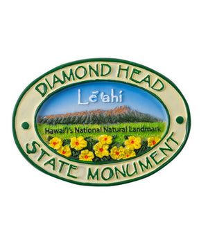 Diamond Head State Monument Magnet