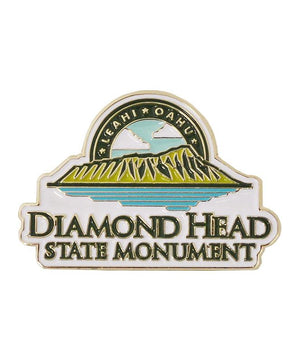 Diamond Head State Monument Logo Pin