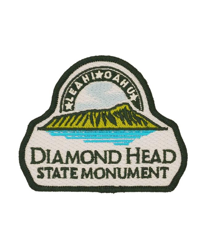 Diamond Head State Monument Logo Patch