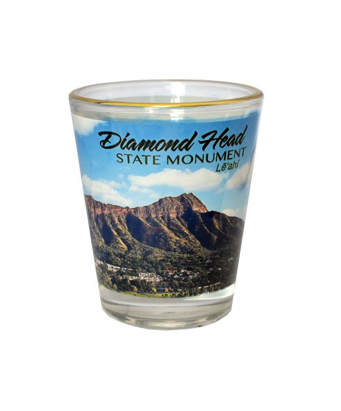 Diamond Head Shot Glass