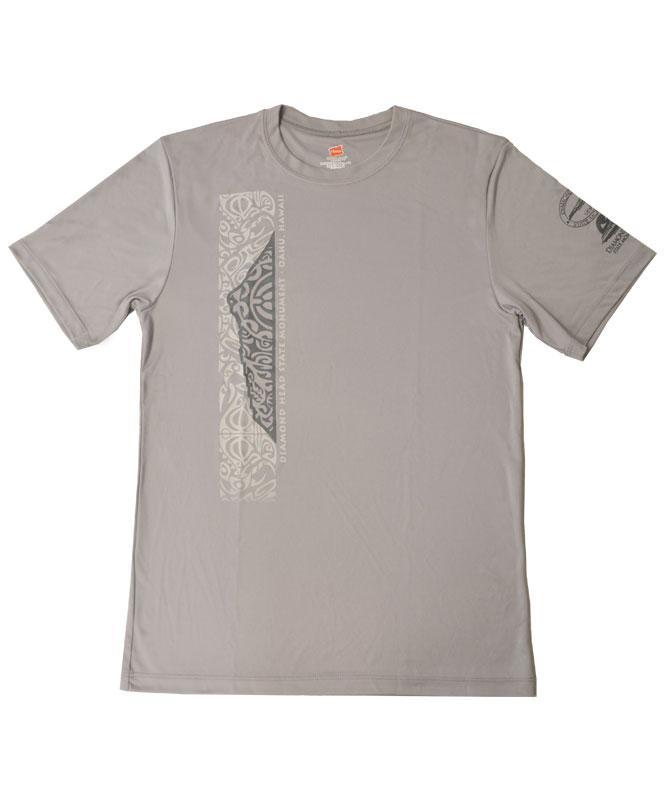 Men's Diamond Head Tattoo T-Shirt, Grey