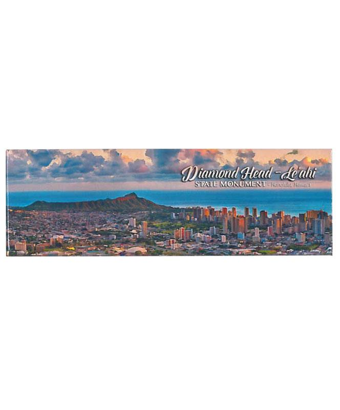 Diamond Head Sunset Magnet